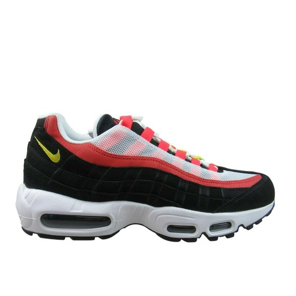 Nike Shoes Air Max 95 Essential Black White Red Running Poshmark